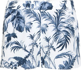 Equipment Landis printed washed-silk pajama shorts