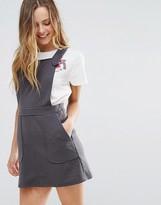 Wal G Pinafore Dress