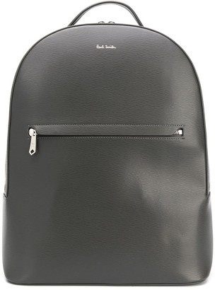 Paul Smith Grained Logo Stamp Backpack
