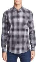 HUGO BOSS Lod Plaid Long Sleeve Button-Down Shirt