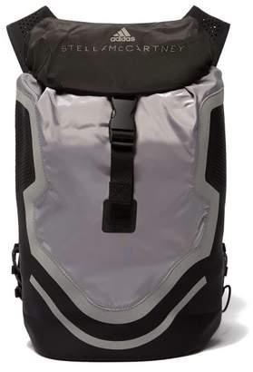 adidas by Stella McCartney Run Perforated Neoprene Backpack - Womens - Black Multi
