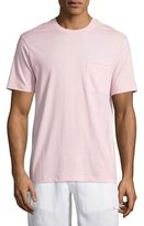 Vilebrequin Solid Short-Sleeve Pocket T-Shirt, Pink