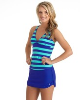 Next Lined Up Racerback Wrap Tankini Top