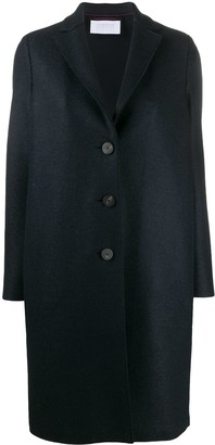 Harris Wharf London Single-Breasted Felted-Wool Coat