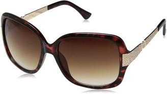 Rocawear Women's R3197 TSGLD Square Sunglasses