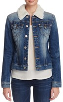 True Religion Western Dusty Denim Jacket in Dark Paper Bag