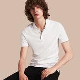 Burberry Regimental Cotton Polo Shirt