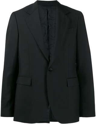 Versace harness effect blazer