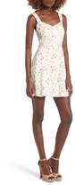 WAYF Women's Hannah A-Line Minidress