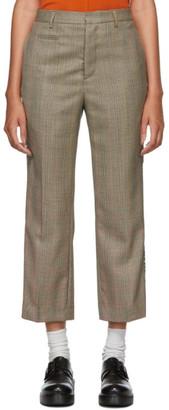 R 13 Brown Tuxedo Trousers