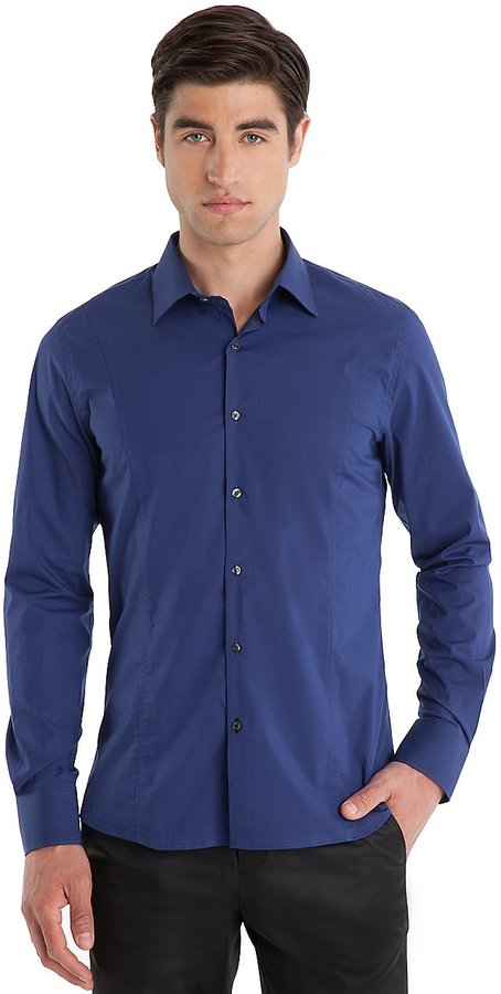 GUESS by Marciano Slim-Fit Collared Shirt