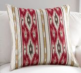 Pottery Barn Holiday Ikat Stripe Pillow Cover
