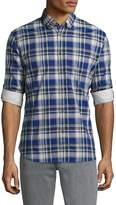 John Varvatos Men's Mitchell Pocket Slim Fit Sportshirt