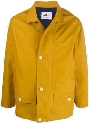 Zip-Up Flap Pocket Raincoat