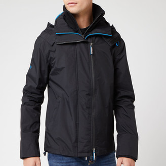 Superdry Men's Tech Hood Pop Zip SD Windcheater NB