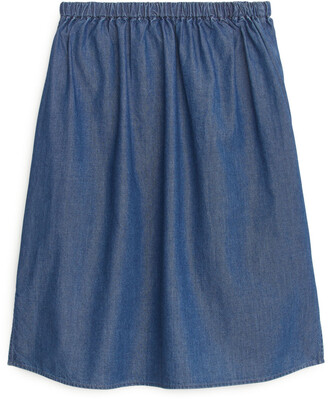 Arket Denim Skirt