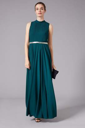 Phase Eight Womens Green Nicola Embroidered Maxi Dress - Green