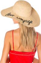 Hat Attack Bon Voyage Sunhat in Beige.