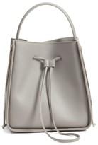 3.1 Phillip Lim 'Small Soleil' Leather Bucket Bag - Grey