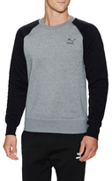 Puma Quilted Crew Sweater
