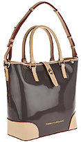 "Dooney & Bourke ""As Is Claremont Patent Cayden Shopper"