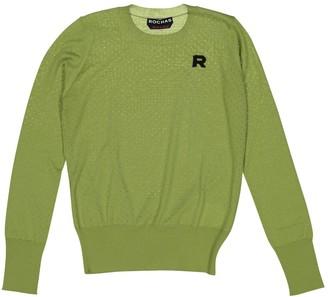 Rochas Green Wool Knitwear