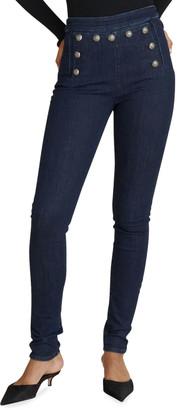 Veronica Beard Jeans Jane Skinny Sailor Jeans