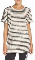 adidas Women's Stripe Tee