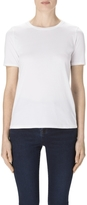 J Brand Colbee Knit Tee In White