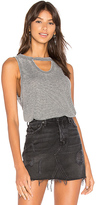 Bobi Burnout Drape Back Tank