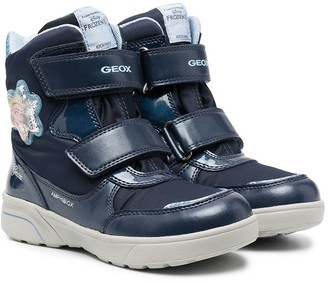 Geox Kids Touch-Strap High-Top Trainers