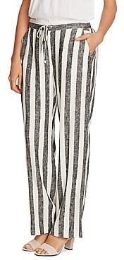 Vince Camuto Striped Drawstring Pants