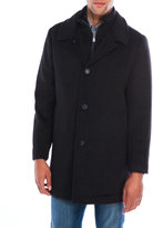 Hart Schaffner Marx Wool Bib Coat