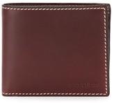 Cerruti stitch detail billfold wallet
