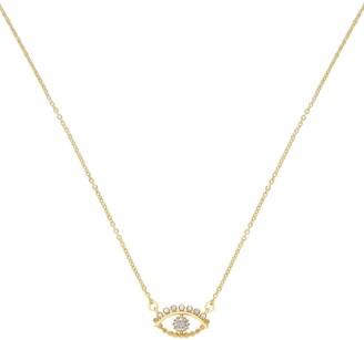 Ettika Evil Eye Pendant Necklace