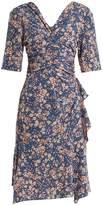 Isabel Marant Brodie floral-print zip-through dress