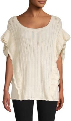 Iro . Jeans Dafgan Alpaca-Blend Pointelle Sweater
