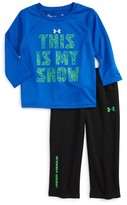 Under Armour Infant Boy's This Is My Show T-Shirt & Mesh Pants Set