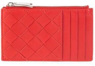 Bottega Veneta Zip Leather Card Case
