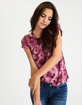 American Eagle Outfitters AE Soft & Sexy Shoulder-Cutout T-Shirt