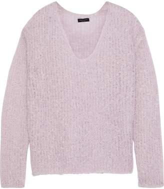 Rag & Bone Freda Boucle-knit Mohair-blend Sweater