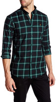 Farah Whitley Plaid Long Sleeve Slim Fit Shirt