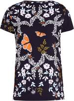 Ted Baker Pepa Kyoto Gardens Fitted T-Shirt