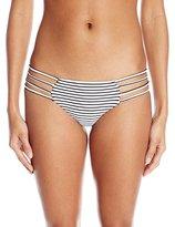 O'Neill Women's Monoco Multi Strap Hipster Bikini Bottom