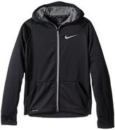 Nike Therma Full-Zip Hoodie (Little Kids/Big Kids)