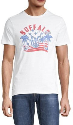 Buffalo David Bitton Logo Cotton-Blend T-Shirt