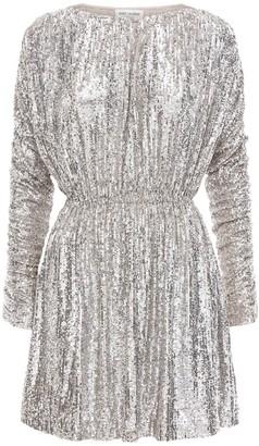Saint Laurent Sequined Mini Dress