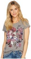 Lucky Brand Paradise Flowers Tee Women's T Shirt