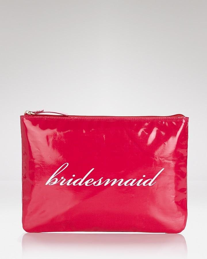 Kate Spade Cosmetics Case - Bridesmaid Wedding Belles