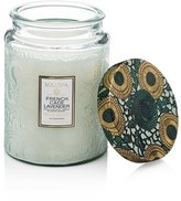 Voluspa Japonica French Cade Lavender Large Glass Jar Candle
